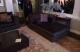 Bioscoopbank op maat in luxe velours stof en design look