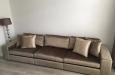 Design bankstel op maat gemaakt in luxe velours stof