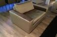 Fauteuil op maat in luxe velours meubelstof