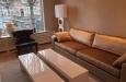 Hoogglans salontafels en velours bankstel op maat