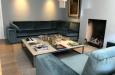 Luxe design bank op maat gemaakt hoekbank velours