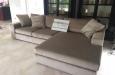 Luxe longchair bank op maat in velours stof (2)