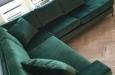 Luxe velours hoekbank op maat (2)