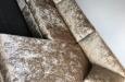 Maatwerk bankstel in velours Alligator stof