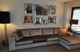 Maatwerk longchair bank in luxe velours stof