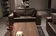 Velours 2-zits op maat in luxe velours stof