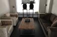 Velours fauteuils op maat en bankstel in velours stof op maat