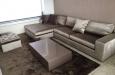 Vloerkleed op maat luxe hoogglans salontafel op maat