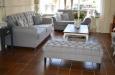 Landelijke set gecapitonneerde meubels Barbara