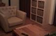 Landelijk fauteuil met capitons