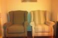 2 fauteuils landelijk