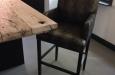 Barstoel op maat design stof op maat