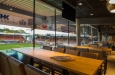 Barstoelen op maat in skai stof voor Volendam project