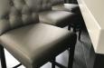Design barstoelen in skay stof op maat
