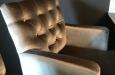 Design barstoelen in velours stof op maat