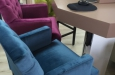 Velours barstoelen Style & Luxury
