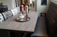 Design eetkamerbank en eetkamerstoelen Bram