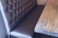 Style & Luxury eetkamerbank Bram hoge rug