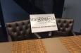 Design barstoelen in luxe stof