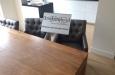 Design look stoelen in luxe stoffen