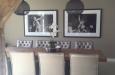 Design stoelen met capitons in skai stof