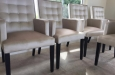 Design stoelen op maat in luxe velours stof