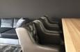 Eetkamerstoel met capitons in luxe skai stof (2)