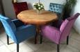 Gecapitonneerde eetkamerstoelen Velours Style & Luxury (2)