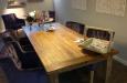 Gecapitonneerde eetkamerstoelen Velours Style & Luxury