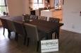 Luxe design stoelen met capitons in design stof