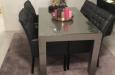 Luxe eetkamerstoelen met capitons design