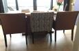 Luxe eetkamerstoelen met knopen