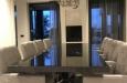 Luxe en moderne design stoelen in velours stof