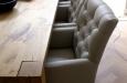 Luxe gecapitonneerde stoelen
