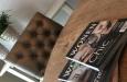 Luxe stoel Bram met knopen in design look