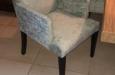 Luxe velours stoelen met croco velours stof