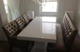 Style & Luxury gecapitonneerd set stoelen en eetkamerbank