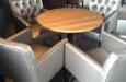 Style & Luxury stoelen met capitons in skai stof