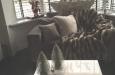 Luxe velours fauteuil op maat