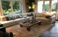 Loungebank op maat in landelijke stijl