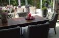 Landelijke eetkamerstoelen met knopen Tampa