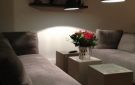 Hoogglans vierkante salontafels