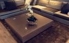 Moderne hoogglans salontafel op maat luxury