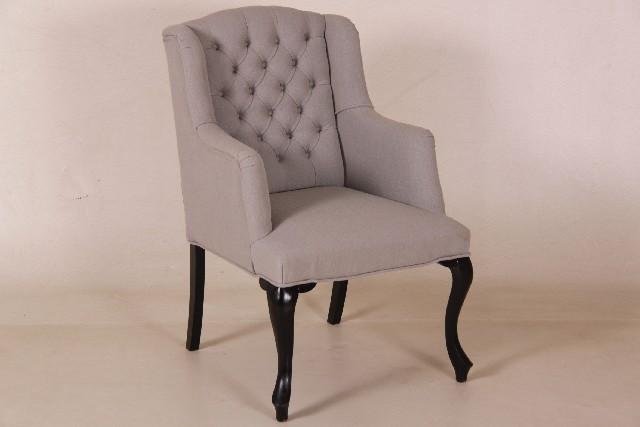 Landelijke eetkamerstoel viktoria bankstyle for Eetkamer stoel
