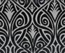 inuk-3226-9-zwart-grijs-gordijnen-meubelstoffen-polyester-viscose-dessin-klassiek-velours-wasbaar-interieur-interieurstoffen