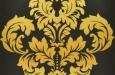victoria-3732-2-gordijnen-meubelstoffen-zwart-geel-100_katoen-dessin-gedessineerd-klassiek-interieur-interieurstoffen