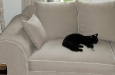 kat op riviera maison stijl bank