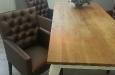 Gecapitonneerde eetkamerstoel luxe stijl