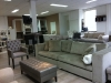 Luxe stijl meubelen bank stoel en voetenbank