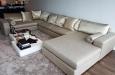 Luxe velours hoekbank op maat design luxury